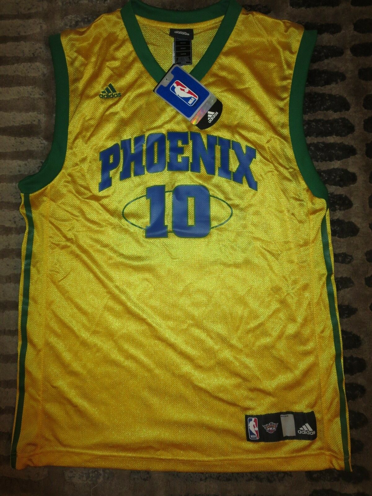 Leandro Leandro Leandro Barbosa  10 Phoenix Suns Brasil Ausgabe NBA Adidas Trikot M Med 4ec3c8