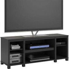 Rustic Wood TV Stand - Black Oak