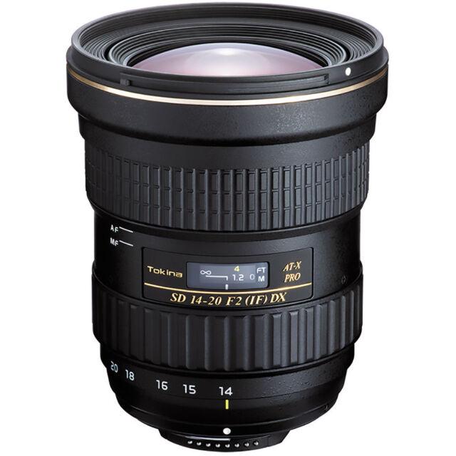 Tokina 14-20mm f/2.0 AT-X Pro DX Lens for Canon DSLR. U.S. Authorized Dealer