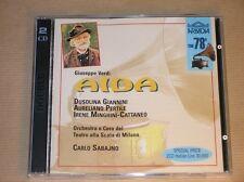 2 CD RARES ARKADIA / AIDA / CARLO SABAJNO / EXCELLENT ETAT