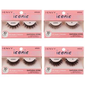 8749abf195f i Envy iconic 3D Angle & Volume False Eyelashes Eye Makeup - Natural ...