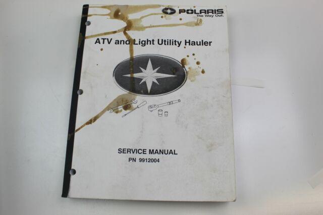 Polaris Oem Atv  U0026 Light Utility Hauler Service Repair