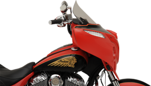 """Klock Werks 14/"""" Clear Flare Windshield for 14-19 Indian Chieftain Roadmaster"""