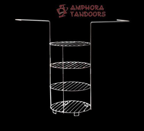 Amphora Tandoor Тандыр Tandoori Tandyr Grillgitter Grillrost Rost 4 lagig mittel