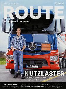 Berichte & Zeitschriften Mercedes Route 2/15 2015 Thw Laaber Unimog U 5023 Lps 2032 Actros Om 473 Lkw Attraktives Aussehen