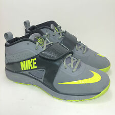 Men's Nike Huarache Turf Lax Stealth Volt Anthracite Gray Sneakers Size 9.5
