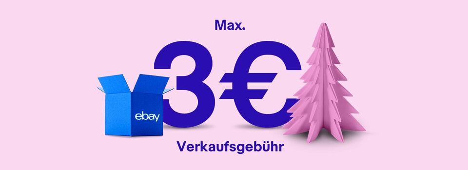 Verkaufsaktion: max. 3€ Verkaufsgebühr – Angebot freischalten - Verkaufsaktion: max. 3€ Verkaufsgebühr*