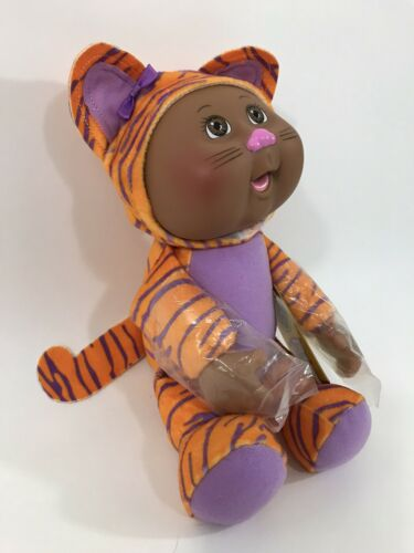 """Cabbage Patch Kids Collectible Cuties Doll Zoo Friends Nala Tiger 9/"""""""