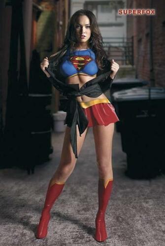 Megan Fox Superfox Poster 61 x 91,5 cm