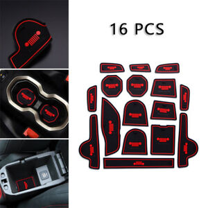 Floor Mat Door Mat Accessorie Rubber Protector For Jeep
