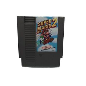 Nintendo-NES-Super-Mario-Bros-2-Video-Game-Cartridge-Authentic-Cleaned-Tested