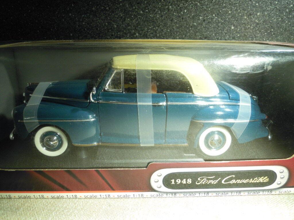 Yat Ming 92419  1948 Ford Ford Ford ConGrünible in türkis, Diecast 1 18, NEU - ungeöffnet    Ausgezeichnet  32b2f1