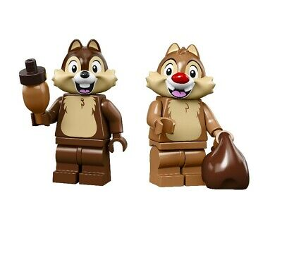 LEGO CHIP /'n/' DALE DISNEY SERIES 2 minifigs 71024 rescue rangers minifgure and