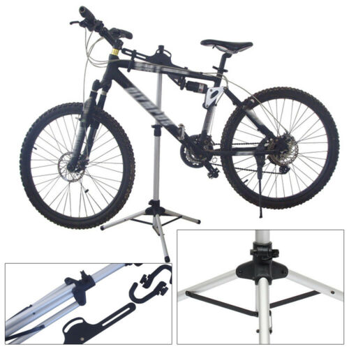 Bicycle Holder Aluminum Alloy/&Plastic Three-point Construction Adjustable Height