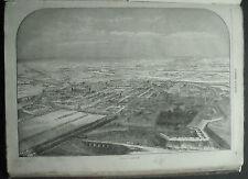 1859,ALESSANDRIA a Volo d'Uccello.In Passepartout..