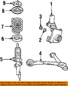 Ford Oem 9903 Windstar Front Suspensionstrut Mount Xf2z18183aa Ebay. Is Loading Fordoem9903windstarfrontsuspensionstrut. Ford. 1999 Ford Windstar Motor Mount Parts Diagram At Scoala.co