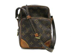 Authentic Louis Vuitton Monogram Amazon m45236 Schultertasche PVC Leder 92650