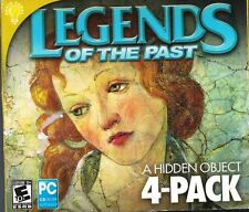 Legends of the Past PC, 2012 CD-Rom Hidden Object Games 4 pack