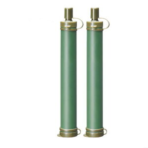 2x-Military-99-99-Water-Filter-Purification-Emergency-Gear-Straw-Camping-New