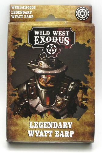 Steampunk Gunslinger Wild West Exodus WEX141110006 Legendary Wyatt Earp Lawman