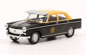 Peugeot-404-Argentina-Taxi-1965-Taxi-Collection-Rare-Diecast-1-43-New-W-Magazine