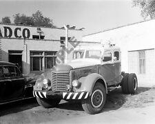 "1940's International Diesel Truck and Trailer Semi Truck Rig 8""x 10"" Photo 27"