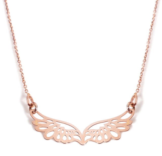 Ah Jewellery® Layered style 18k Rose Gold Over Sterling Silver Open Work Circle