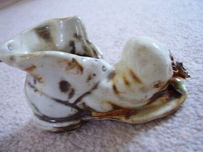 Zapato De Porcelana De Capodimonte Italia-Ornamento