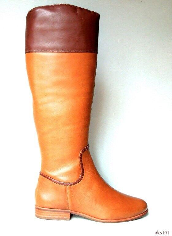 conveniente New Jack Rogers 'Mercer Oak' tan Marrone leather TALL TALL TALL FLAT riding stivali - classic  sconto di vendita