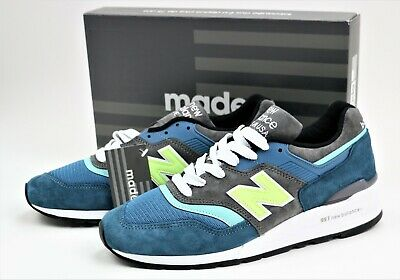 NEW BALANCE MEN 997 M997PAC MADE IN USA BLUE/GREEN Men's Shoes Size US 10,  11 | eBay