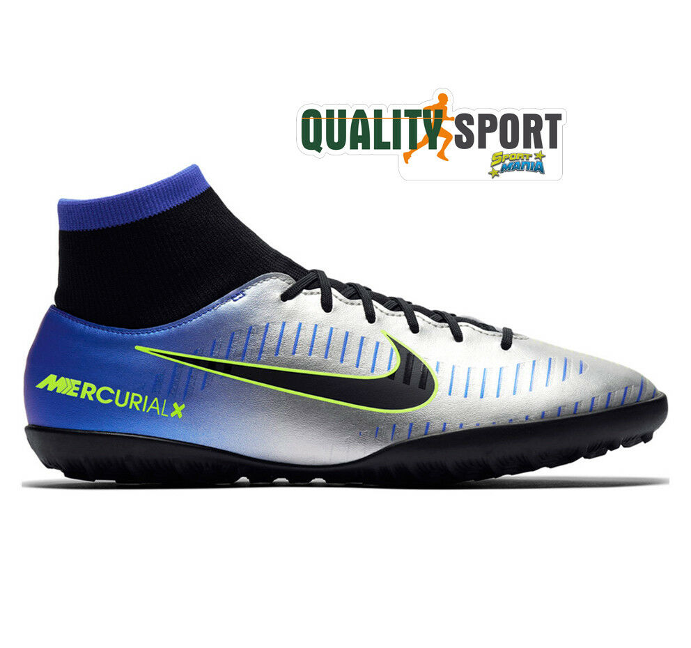 info for acec8 bb28f Nike Mercurial Victory Victory Victory 6 DF Neymar JR TF Scarpe scarpe Uomo  Calcetto 921514 407 841ad9