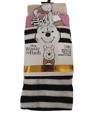 Women Ladies Girls 3 Pairs Multi Bambi Shoe Liner Trainer Socks Size UK 4-8 New