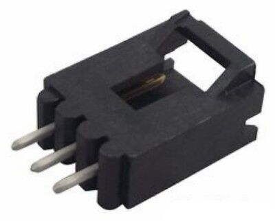 10 Position header connector through hole TE Connectivity 1-1586492-0 qty 4