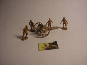 """Soldatini Toy Soldiers non marcati Artiglieri plastica scala H0-00 #ART4 - Italia - In caso di ripensamento sull' acquisto o per motivi non imputabili a """"mia colpa"""", le spese di spedizione e le tariffe d'inserzione sarannoa carico dell'acquirente rinunciatario.Grazie - Italia"""
