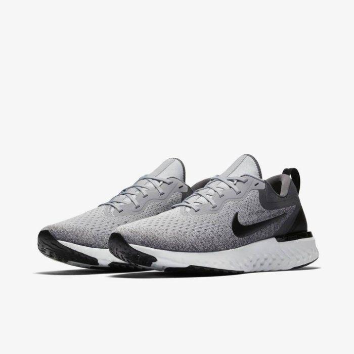 Men's Nike Odyssey React Running shoes Wolf Grey Black Sizes 8-13 NIB AO9819-003