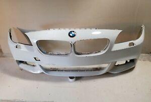 2012-2013-BMW-528i-XDrive-Sedan-W-M-PKg-PDC-Sensor-Front-Bumper-Cover-OEM