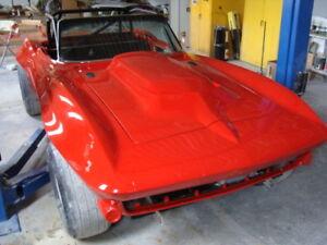 Details about 1963-1967 C2 Corvette Front Fenders 1 5