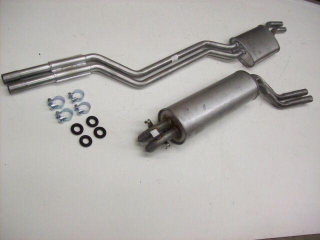 Auspuff Auspuffanlage Abgasanlage Mercedes W123 280C CE Coupe Bj. 76-78