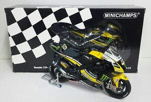MINICHAMPS-COLIN-EDWARDS-1-12-MODELLINO-YAMAHA-M1-MONSTER-TECH3-MOTOGP-2010-NEW