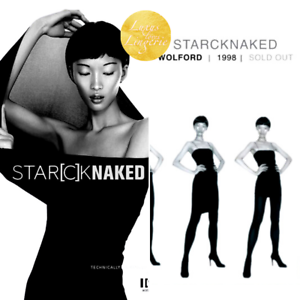 Starck Naked dress Wolford ✨ XS noir black neuf dans sa boîte ✨ avec collant intégré