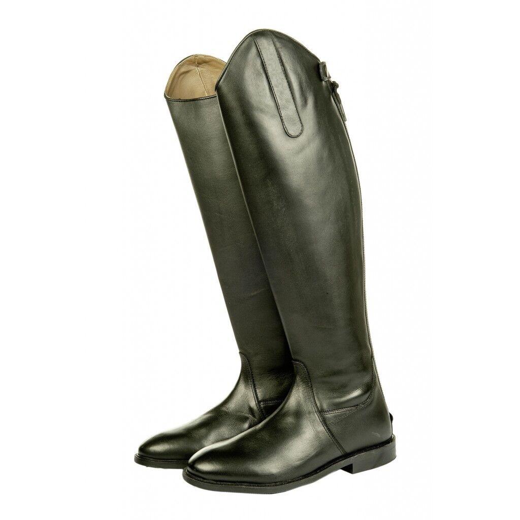Reitstiefel --,Soft Rinderleder,Standardlänge/weite Rinderleder,Standardlänge/weite --,Soft schwarz HKM 6544 NEU bd1363
