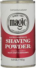 Magic Shave Extra Strength Shaving Powder - 5oz Red Can