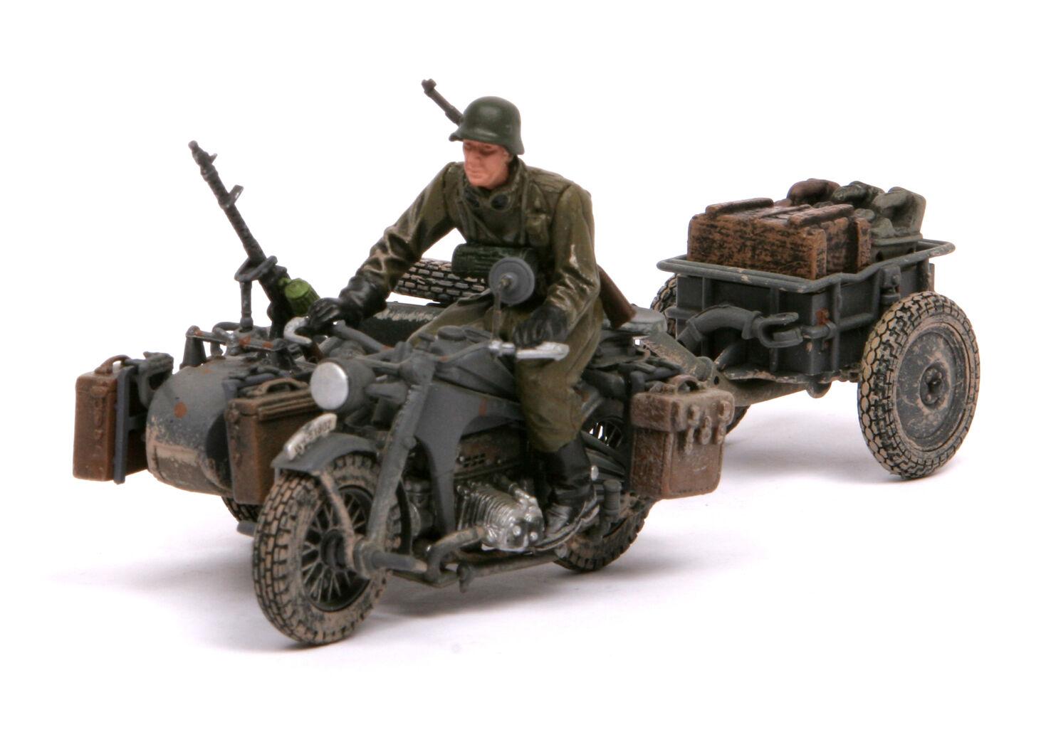 Forces of Valor 1 32,    EXTRA RARE    GERMAN ZUNDAPP KS 750 Side, 82006