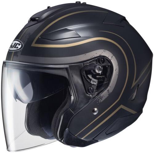 HJC IS-33 II Apus Motorcycle Street Helmet MC-9SF Large L 0833-1239-06