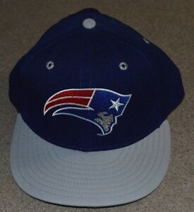 various colors f926c 6a84e Image is loading Vtg-New-England-Patriots-New-Era-Fitted-5950-