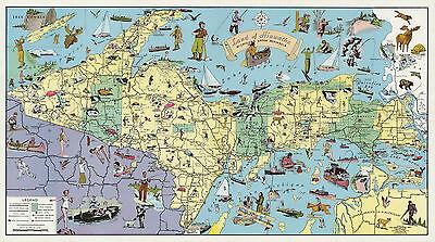 Historical Map of Atlanta Campus Emory University Wall Art Poster Decor Vintage