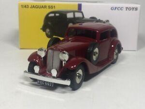 DINKY-TOYS-GFCC-TOYS-1-43-JAGUAR-SS1-Diecast-car-model