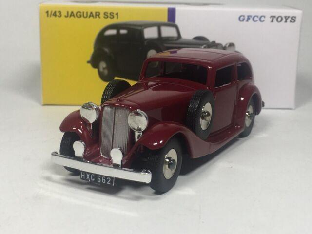 DINKY TOYS - GFCC TOYS 1/43 JAGUAR SS1 Diecast car model