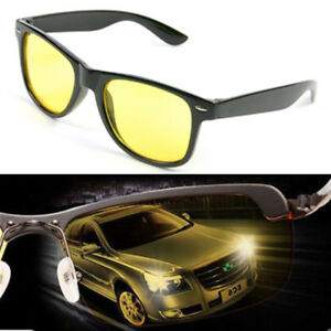 Night-Driving-Glasses-Anti-Glare-Vision-Driver-Safety-Sunglasses-Goggles-Yellow