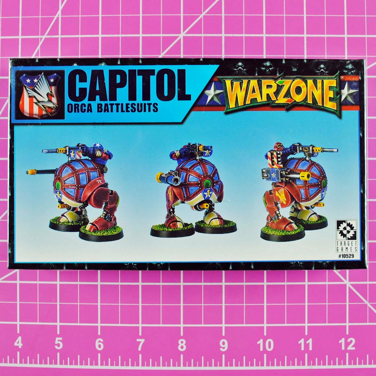 Warzone Mutant Chronicles Capitol Orca Battlesuits (Rare) - Target Games Walkers